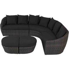 Curved Corner Sofa