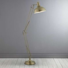 Wide range of Floor Lamps available to buy today at Dunelm, the UK's largest homewares and soft furnishings store. Floor Lamp Makeover, Diy Floor Lamp, Contemporary Floor Lamps, Modern Floor Lamps, Room Lights, Hanging Lights, Farmhouse Floor Lamps, Antique Brass Floor Lamp, Desk Lamp