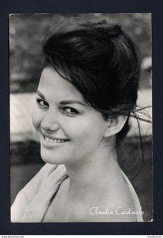 Cartolina Cinema - Claudia Cardinale - Actors