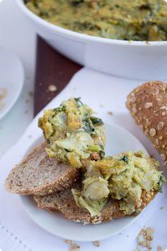 Vegan Kale Artichoke