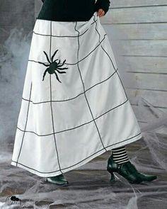 Spider skirt.