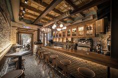 Peskesi restaurant in Heraklion by Tectus Design