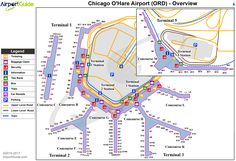 375 Best Airport Terminal Maps - AirportGuide.com images | Blue ...