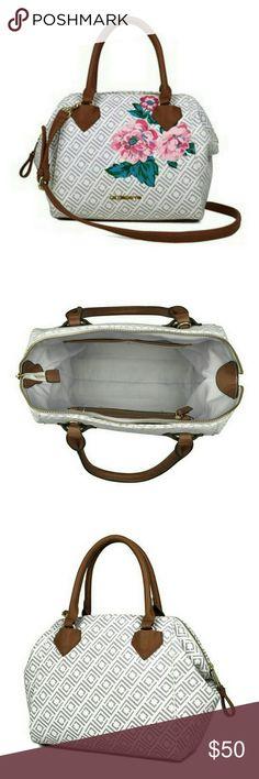 Liz Claiborne Satchel Bag NWOT. Reposh. Cute bag but it's not my style. Brand New! Liz Claiborne Bags