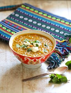 Take a culinary trip to Tajikistan with this recipe for Tajik Green Lentil and Rice Soup. Flavored with cumin seeds and allspice, it is delightful.