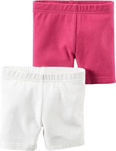 Carters Little Girls 2-pk. Solid Bike Shorts -- Additional details @