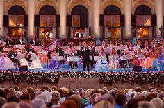 Andre Rieu - would LOVE to see a concert again. Someday...