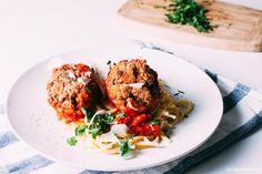 Tuna Meatballs | SaltPepperSkillet.com
