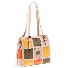 Vegane Korktasche «Color Mix» – Handtasche aus Kork online kaufen Bucket Bag, Bags, Leather Bag, Pocket Wallet, Handbags, Bag, Totes, Hand Bags