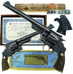 Smith & Wesson Registered Magnum, one of the best crafted revolvers of all time