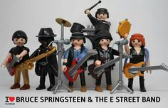 Playmobil Bruce Springsteen and the E Street Band