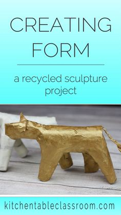 sculpture projects Learn about the element of form through this recycled sculpture lesson. Students will create an animal sculpture inspired by the art of Frederic Remington. Art Lessons For Kids, Art Lessons Elementary, Art For Kids, Frederic Remington, Sculpture Lessons, Sculpture Projects, Sculpture Art, School Art Projects, Projects For Kids