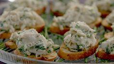 Crab Crostini with Lemon and Herbs   Giada De Laurentiis
