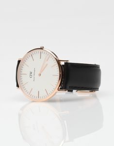 classic sheffield watch by daniel wellington