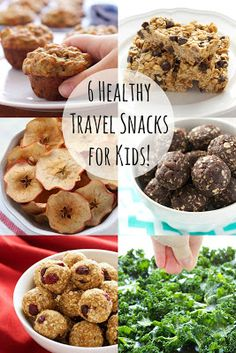 6 Healthy Travel Snacks for Kids