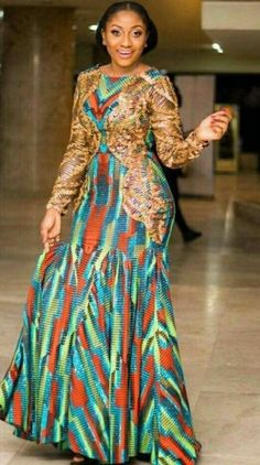 If yes, try some of the latest Ankara styles we have lined up for you today. They are sexy, sassy and look absolutely gorgeous. African Lace Dresses, Latest African Fashion Dresses, African Dresses For Women, African Print Fashion, Africa Fashion, African Attire, African Wear, African Women, Ankara Fashion