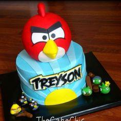 f6b1efcc12a Angry birds cake Angry Birds Cake