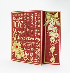 Create Elegant cards and projects with WOW effect using our Christmas Foilpress Stamp Dies Project by: Carin Heathcote Christmas Wishes, Xmas, Crafters Companion Christmas Cards, Elegant Christmas, Merry And Bright, Projects To Try, Card Making, Paper Crafts, Handmade Cards