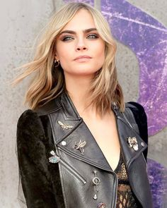 Click the link in our bio for everything about @caradelevingne changing her hair Image: Getty  via VOGUE AUSTRALIA MAGAZINE OFFICIAL INSTAGRAM - Fashion Campaigns  Haute Couture  Advertising  Editorial Photography  Magazine Cover Designs  Supermodels  Runway Models