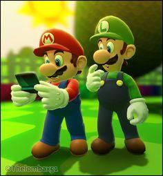 GM - #Mario Plays #Nintendo #3DS by RatchetMario.deviantart.com