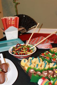 """Photo 1 of 26: Sushi inspired desserts / Birthday """"Asian Flare"""" 