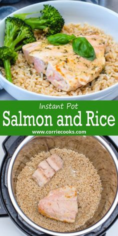 Here is a simple and light pressure cooker recipe. Instant Pot one-pot meal which is ideal for a busy weekday. It's prepared with frozen salmon fillets. Why do complicated stuff when it can be so easy !It is an exquisite fish recipe. It'll fulfill your seafood cravings and they become even more amazing when they are served with rice. Best Pressure Cooker Recipes, Instant Pot Pressure Cooker, Slow Cooker, Fish Recipes, Seafood Recipes, Healthy Recipes, Asian Recipes, Best Instant Pot Recipe, Instant Pot Dinner Recipes