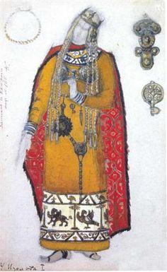 Isolde - Nikolái Roerich