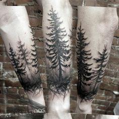 Our Favorite Guides Wald Tattoo To 21 Wald Campfire Tattoo Designs For Men Wald Tattoo, Superlative Suggestions Wald Tattoo 2019 - medium kb pic, Fascinating Steps Wald. Forest Tattoo Sleeve, Forest Forearm Tattoo, Forearm Tattoos, Body Art Tattoos, Sleeve Tattoos, Cool Tattoos, Ship Tattoos, Ankle Tattoos, Arrow Tattoos