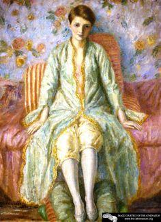 Portrait of Jane Belo  Frederick C. Frieseke