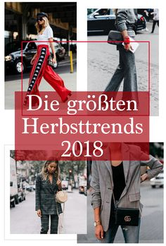 Die größten Herbsttrends 2018 Pinterest Trends, Outfits, Autumn, Suits, Kleding, Beauty Trends, Outfit, Outfit Posts, Clothes