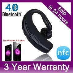 Купить товарБеспроводная связь Bluetooth 4.0 + EDR NFC гарнитура наушники с голосовым управлением и шумоподавления руки мини стерео A2DP наушники в категории Наушникина AliExpress.    A2DP Wireless Bluetooth 4.0 Headphone Headset Earphones Support HD Voice Handsfree Calling for iPhone Samsung HTC ONE