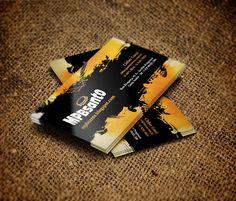 Cartão de visitas para blog sobre música cristã / Business card made for christian music blog (Brazil).