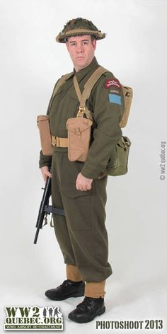 102 Best Canadian Uniforms (in detail) of WWII images in 2019   Wwii