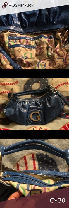 Shop Women's Guess Blue size OS Mini Bags at a discounted price at Poshmark. Guess Purses, Guess Bags, Mini Bags, Shop My, Best Deals, Closet, Things To Sell, Guess Handbags, Armoire