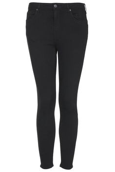 Photo 1 of PETITE MOTO Black Jamie Jeans