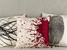 Goth Couture Embroidered Pillows | Lost City Products | AHAlife