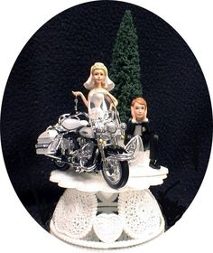 Details about KAWASAKI Motorcycle wedding Cake topper Crotch