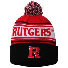 c8728eb420c71 Rutgers Scarlet Knights NCAA One Size Ambient Cuffed Knit Beanie Hat by Top  of the World