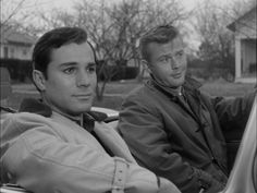 Watching what seemed like endless summer reruns before the new TV season started  -- Route 66 - I think I traveled those same trips with Martin Milner and George Maharis  50 times over!