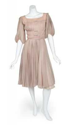 So it's a little tattered and torn, but here is the original movie costume that Liesl wore in the Sound of Music! (Charmian Carr)