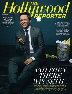 Seth Meyers on 'Late Night' Jitters, Lorne Michaels' Advice and Leaving His Dream Job The Hollywood Reporter, In Hollywood, Now Magazine, Magazine Covers, Seth Meyers, Spin Out, Judi Dench, Popular Mechanics, Saturday Night Live