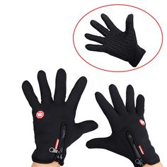Newest Windproof Touch Screen Gloves Winter Outdoor Sports Gloves Cycling Bicycle Gloves Motorcycle Racing Gloves for Men Women