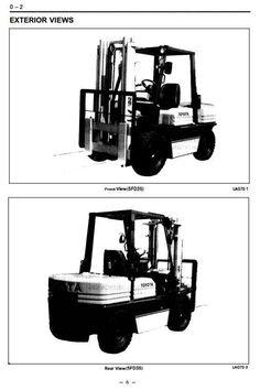 toyota lpg forklift truck 30 5fgc10 30 5fgc13 30 5fgc15 5fgc10 rh pinterest com Toyota Forklift Manual 7FGU15 Toyota Forklift Battery Packs