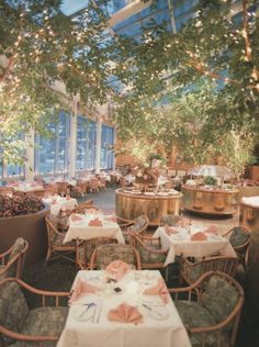 American Harvest Restaurant, New York, New York From Restaurant Design (1987)