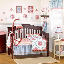 CoCaLo Baby Dahlia 4-Piece Bedding Set