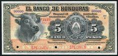 Paper money of Honduras 5 peso banknote, El Banco de Honduras. Honduran Lempira, Billetes de Honduras, Honduras banknotes, Honduras paper money, papel moneda en Honduras, Billete de Lempiras, Honduras bank notes, Honduran banknotes, Honduran paper money, Honduran bank notes, Honduras Currency money, Lempira Hondureño.