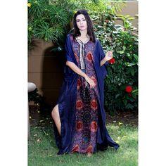 Silk kaftan Silk Kaftan, Kaftans, Two Piece Dress, Designer Collection, Sari, Tunic, Fancy, Stuff To Buy, Wedding