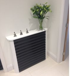 Radiator Cover finished in gloss made to measure by Zespoke.com