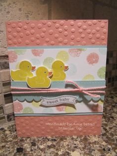 """Something for Baby"" Stampin' Up!"