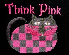 Think Pink t-shirt giveaway for cat lovers!